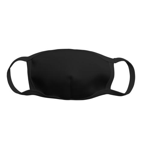 Чёрная защитная маска